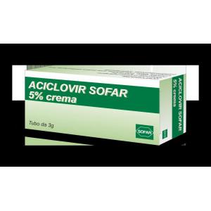 ACICLOVIR SOFAR%CREMA 5% 3G