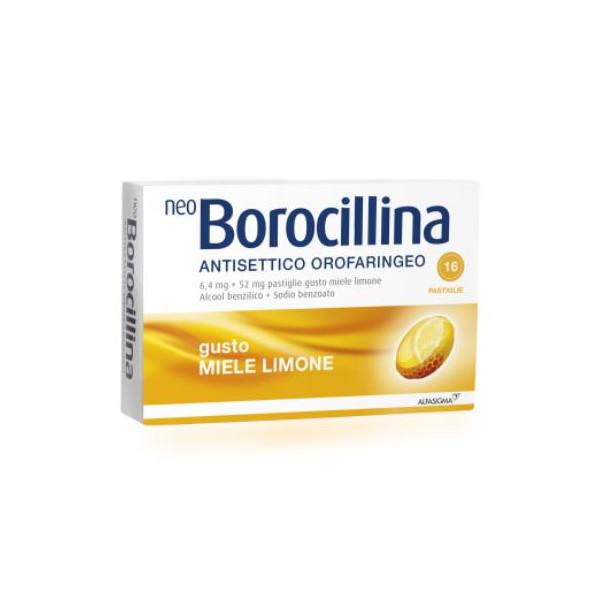 NEOBOROCILLINA ANTISETTICO OR%16PAS LIMONE