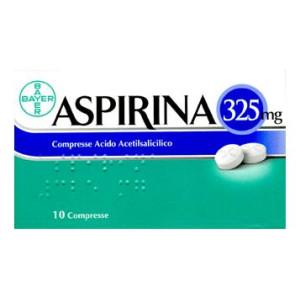 ASPIRINA%10CPR 325MG