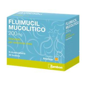 FLUIMUCIL MUC%OS 30BUST 200MG