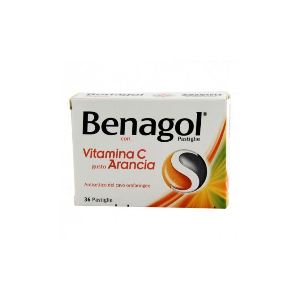 BENAGOL VIT C%36PAST ARANCIA