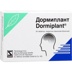 DORMIPLANT%50CPR RIV160MG+80MG