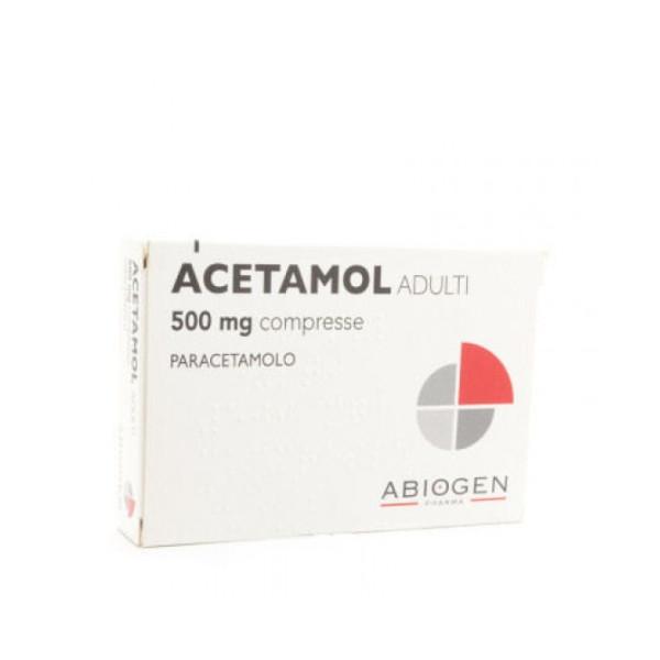 ACETAMOL%AD 20CPR 500MG