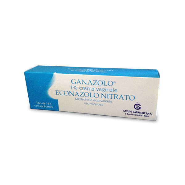 GANAZOLO%CREMA VAG 78G 1%+APPL
