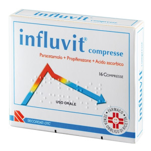INFLUVIT%16CPR 150+300+150MG