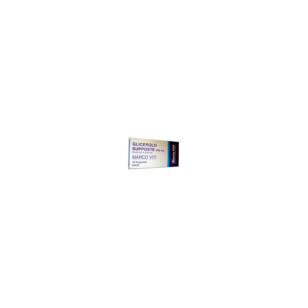 GLICEROLO MV%AD 18SUPP 2250MG