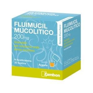 FLUIMUCIL MUC%30BUST 200MG S/Z