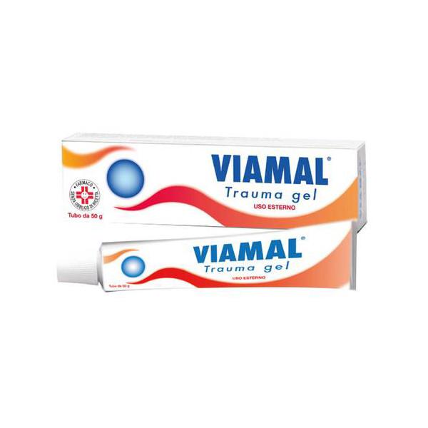 VIAMAL TRAUMA%GEL TUBO 50G