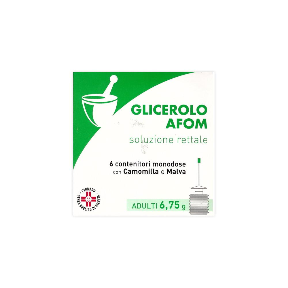 GLICEROLO AFOM%AD 6CONT 6,75G