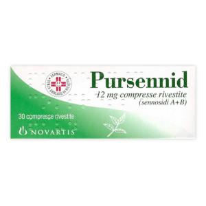 PURSENNID%30CPR RIV 12MG