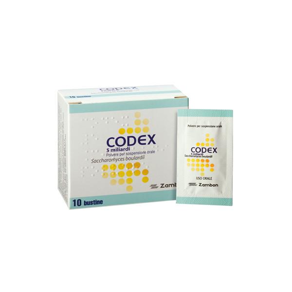 CODEX%10BUST 5MLD 250MG