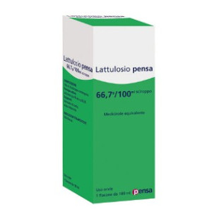 LATTULOSIO PENSA%OS 180ML66,7%