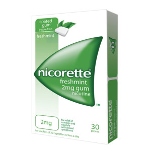 NICORETTE%30GOMME MAST 2MG