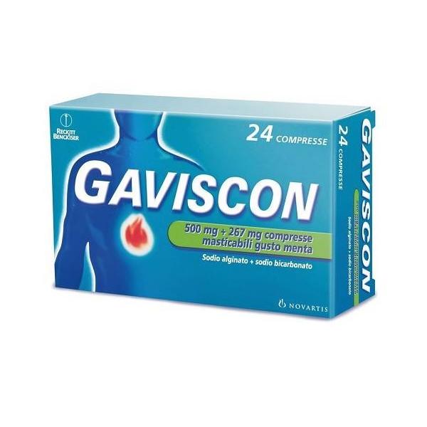 GAVISCON%24CPR MENTA 500+267MG