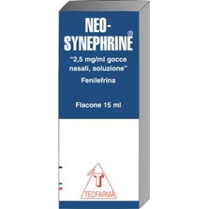NEOSYNEPHRINE%GTT 15ML2,5MG/ML