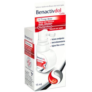 BENACTIVDOL GOLA%SPRAY15ML8,75