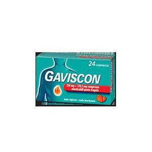 GAVISCON%24CPR FRAG250+133,5MG