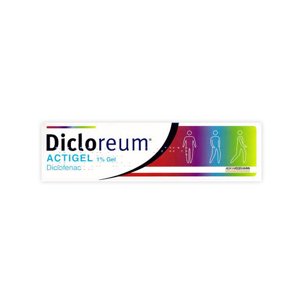 DICLOREUM ACTIGEL%GEL 100G 1%