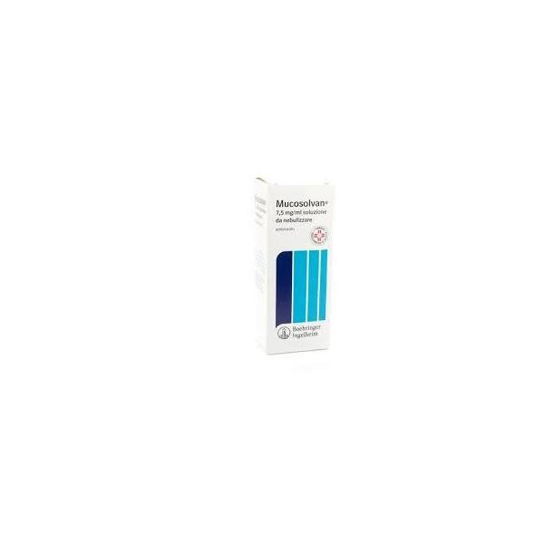 MUCOSOLVAN%NEBUL 40ML 7,5MG/ML