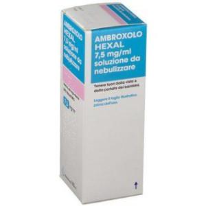 AMBROXOLO HEXAL%NEBUL FL 100ML