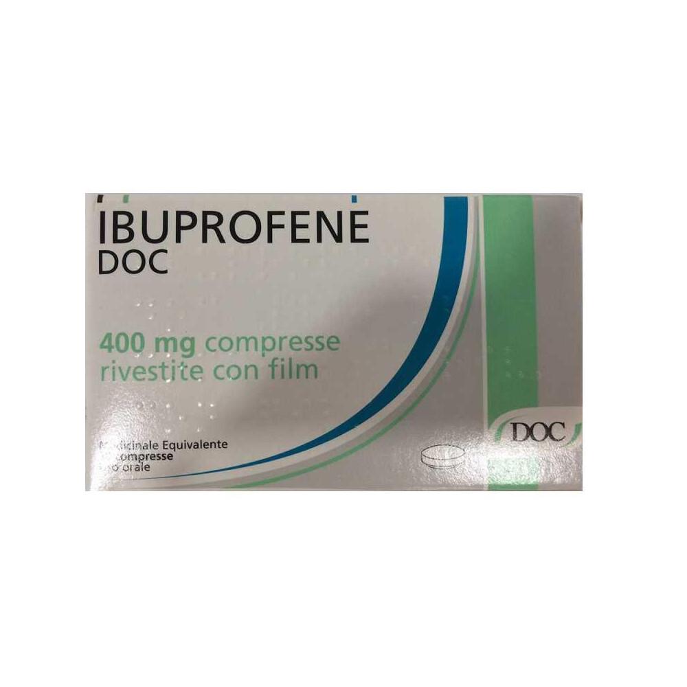 IBUPROFENE DOC%12CPR RIV 400MG