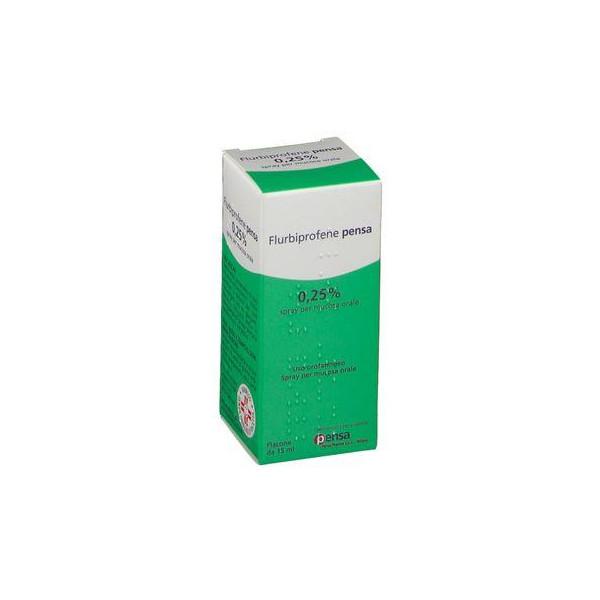 FLURBIPROFENE PE%OS SPRAY 15ML