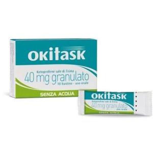 OKITASK OS GRAT 10BUST 40MG